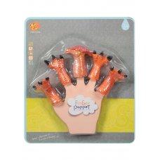 Детская  игрушка в виде животного Паразауролоф для пальчикового театра   TL-26