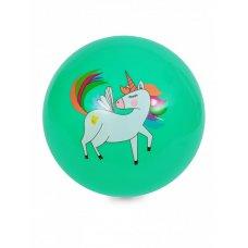 Мяч детский 20см бирюзовый с Пони