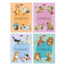 Блокнот 24л А6 Забавные животные 056235