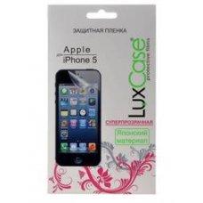 "4""  Защитная пленка LuxCase для смартфона Apple iPhone SE, Apple iPhone 5С, Apple iPhone 5S, Apple iPhone 5"