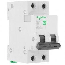 Автоматический выключатель SE Easy 9 [2П, 20А, С, 4,5кА, 230В] (EZ9F34220)