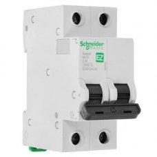 Автоматический выключатель SE Easy 9 [2П, 40А, С, 4,5кА, 230В] (EZ9F34240)