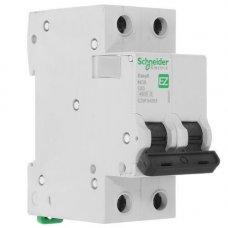 Автоматический выключатель SE Easy 9 [2П, 63А, С, 4,5кА, 230В] (EZ9F34263)