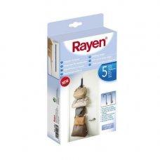 Крючок на дверь для сумок RAYEN 2067, 4х1х100 см