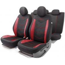 Авточехлы AUTOPROFI AEROBOOST AER-1102 красный