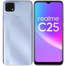 "6.5"" Смартфон realme C25 64 ГБ голубой"