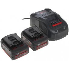 Аккумулятор Bosch 2 GBA 18V 5.0Ah + GAL 1880 CV