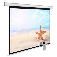 """100"""" (254 см) Экран для проектора Cactus 138x220см MotoExpert CS-PSME-220x138-WT"""