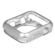 Бампер InterStep для Apple Watch 38/40 mm серебристый