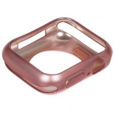 Бампер InterStep для Apple Watch 38/40 mm розовый