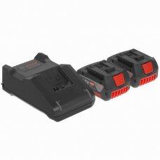 Аккумулятор Bosch 2 GBA 18V 4.0Ah + GAL 18V-40